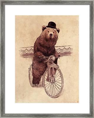 Barnabus Framed Print by Eric Fan