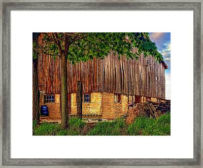 Barnyard Framed Print by Steve Harrington