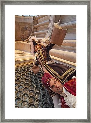 Baroque Gentlemen 12 Framed Print by Danilo Piccioni