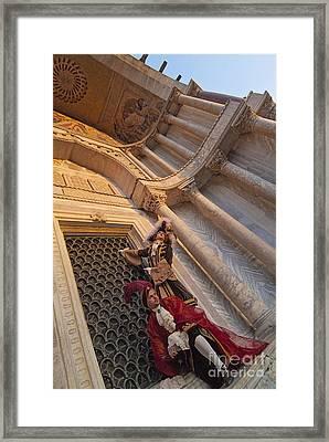 Baroque Gentlemen 13 Framed Print by Danilo Piccioni
