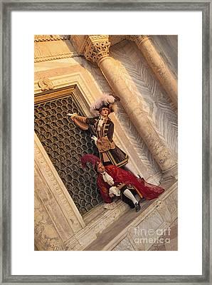 Baroque Gentlemen 15 Framed Print by Danilo Piccioni