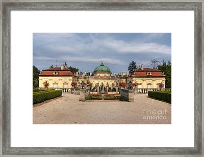 Baroque Landmark - Buchlovice Castle Framed Print by Michal Boubin