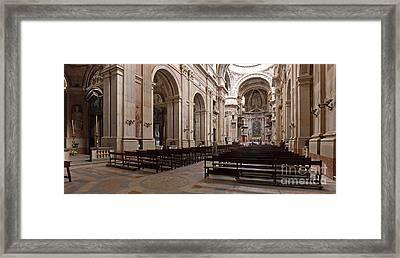 Baroque Palace  Framed Print by Jose Elias - Sofia Pereira