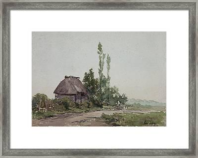 Barstaimat, Forest Of Mormul  Framed Print by Henri Duhem