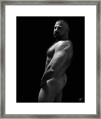 Bart Framed Print by Chris  Lopez