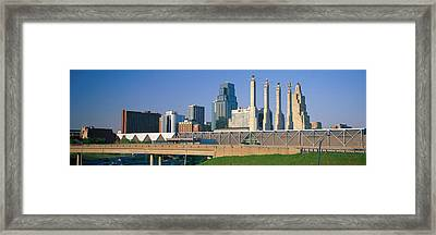 Bartle Hall Kansas City Mo Framed Print by Panoramic Images