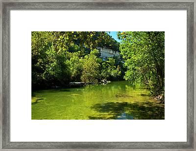 Barton Creek Greenbelt  Framed Print by Mark Weaver