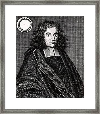 Baruch Spinoza Framed Print by Universal History Archive/uig