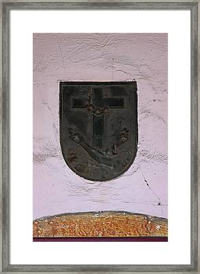 Bas Relief Plaques Framed Print by Viktor Savchenko