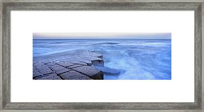 Basalt Rock, Berwick Upon Tweed Framed Print by Panoramic Images