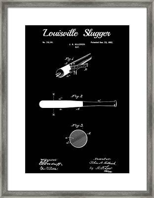 Baseball Bat Framed Print by Dan Sproul