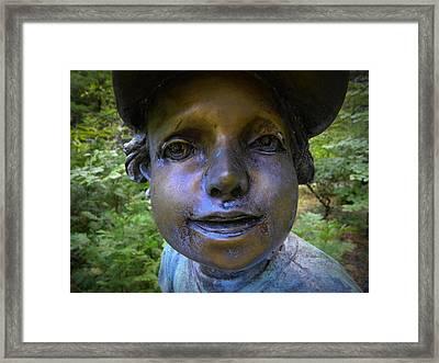 Baseball Boy  Framed Print by Frank Wilson