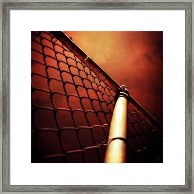 Baseball Field 11 Framed Print by YoPedro