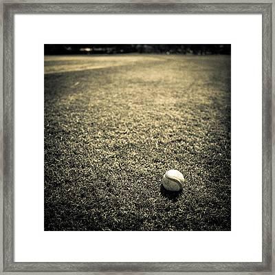 Baseball Field 3 Framed Print by YoPedro