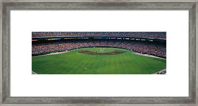 Baseball Stadium, San Francisco Framed Print by Panoramic Images
