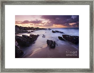 Basham Twilight Framed Print by Mike  Dawson