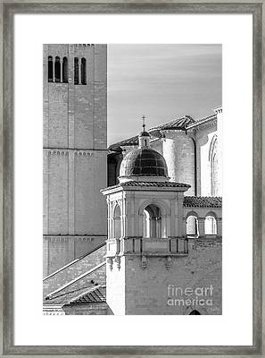 Basilica Details Framed Print by Prints of Italy