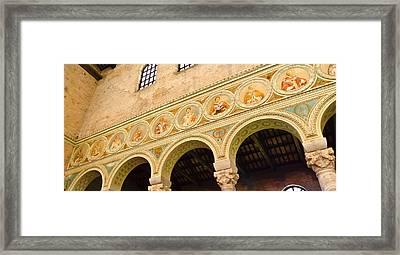 Basilica Di Sant' Apollinare Nuovo - Ravenna Italy Framed Print by Jon Berghoff