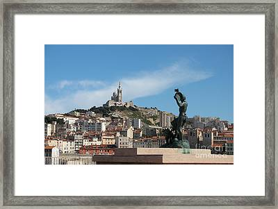 Basilica Notre Dame On The Hill Framed Print by Christiane Schulze Art And Photography