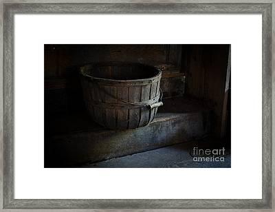 Basket At Olsons Framed Print by Scott Thorp