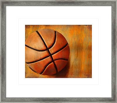 Basket Ball Framed Print by Craig Tinder