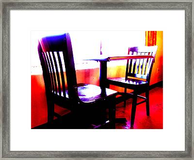 Basking Framed Print by Wendy J St Christopher