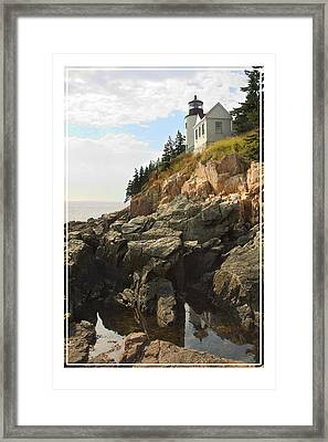 Bass Harbor Head Lighthouse Framed Print by Mike McGlothlen