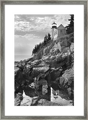 Bass Harbor Light Framed Print by Mike McGlothlen