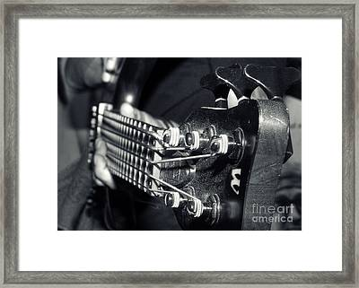 Bass  Framed Print by Stelios Kleanthous