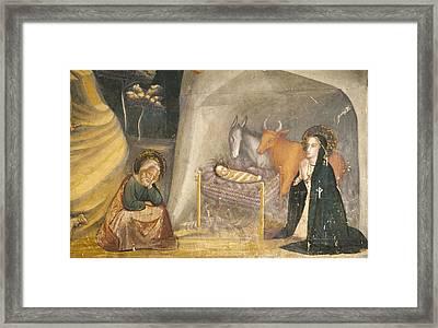 Bassa, Ferrer 1290-1348. Frescoes Framed Print by Everett