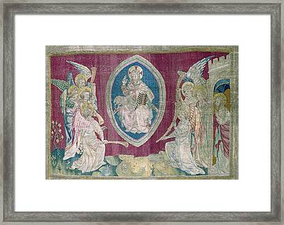 Bataille, Nicolas 14th C.. Seventh Seal Framed Print by Everett