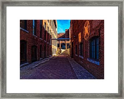 Bates Mill Lewiston Maine Framed Print by Bob Orsillo