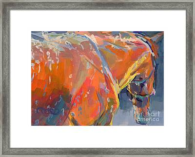 Bathtime  Framed Print by Kimberly Santini