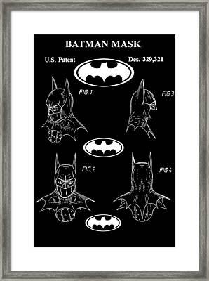 Batman Framed Print by Dan Sproul