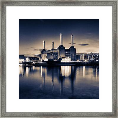 Battersea Power Station London Framed Print by Ian Hufton