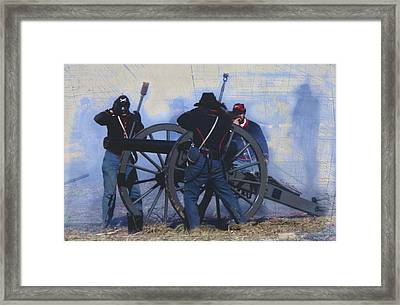 Battle Of Franklin - 1 Framed Print by Kae Cheatham