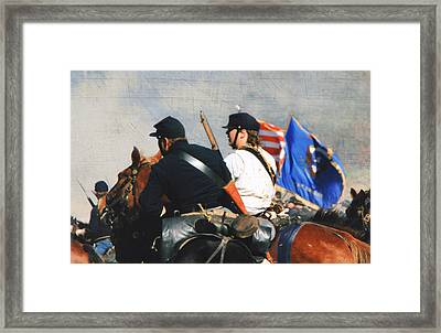 Battle Of Franklin - 2 Framed Print by Kae Cheatham