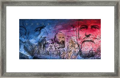 Battle Of Gettysburg Tribute Day One Framed Print by Joe Winkler
