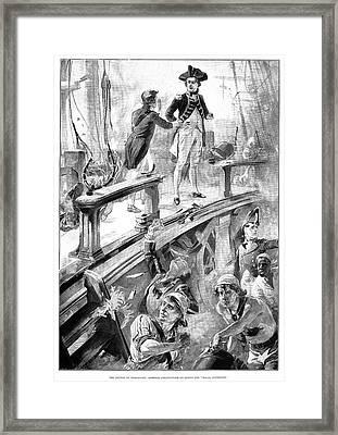 Battle Of Trafalgar, 1896 Framed Print by Granger