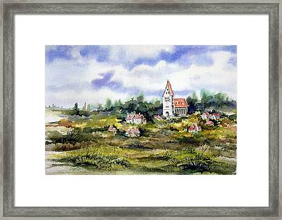 Bavarian Village Framed Print by Sam Sidders
