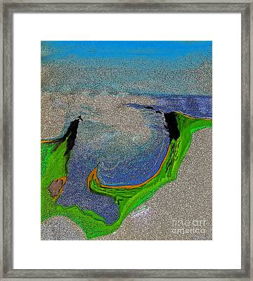 Bay Framed Print by First Star Art