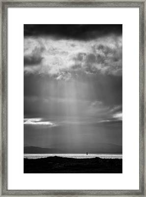 Bay Light Framed Print by Dave Bowman