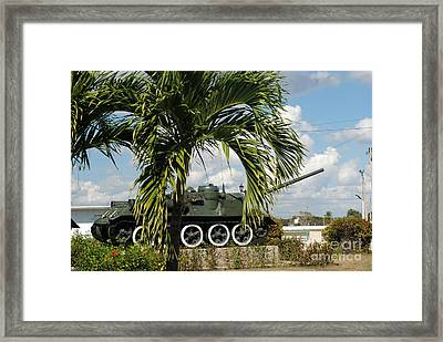 Bay Of Pigs Museum Framed Print by Andrea Simon