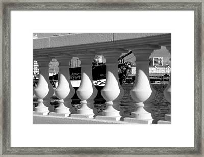 Bayshore And The Jose Gasparilla Framed Print by David Lee Thompson