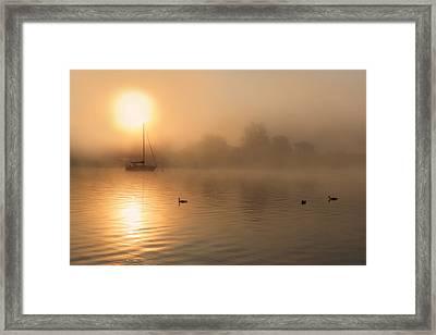 Bayside Sunrise 3 Framed Print by Lori Deiter