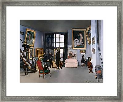 Bazille's Studio Framed Print by Mountain Dreams