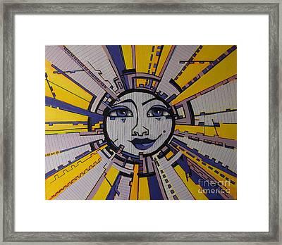 Bazinga - Sun Framed Print by Grace Liberator