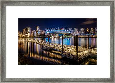 Bc Place Framed Print by Alexis Birkill