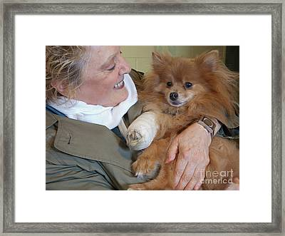 Be Better Soon Framed Print by Ann Horn