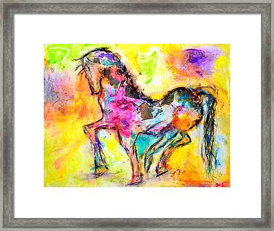 Be Free Framed Print by Ivan Guaderrama
